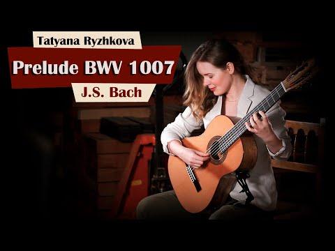 J. S. Bach, Prelude BWV 1007, Cello Suite no. 1, performed by Tatyana Ryzhkova