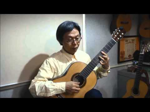 Greensleeves Traditional グリーンスリーブス  石田 忠 Tadashi Ishida クラシックギター