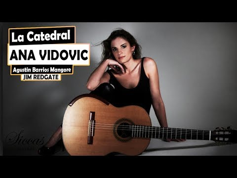 Ana Vidovic plays 'La Catedral' by Agustín Barrios Mangoré on a classical guitar - クラシックギター