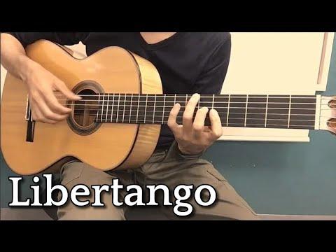 【ギター】リベルタンゴ(Libertango) 【TAB譜・楽譜あり】